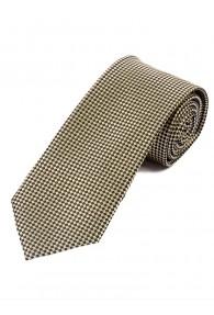 Krawatte elegante Waffel-Oberfläche elfenbein...