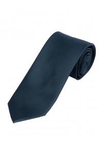 Satin-Krawatte Seide monochrom anthrazit
