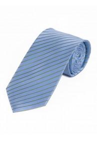 Businesskrawatte dünne Linien hellblau jagdgrün