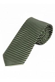 Krawatte dünne Linien dunkelblau champagner