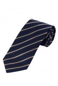 Krawatte dünne Linien himmelblau weiß