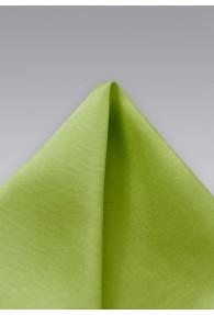 Einstecktuch Seide grün
