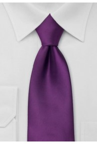 XXL-Krawatte brombeere