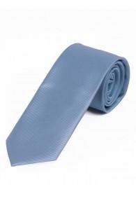 Schmale Krawatte unifarben Linien-Struktur...