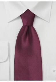Lange Krawatte dunkles bordeaux