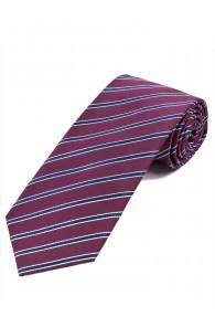 Wunderbare Krawatte Streifenmuster weinrot...