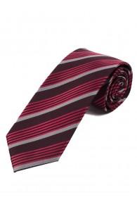 Perfekte Krawatte Streifendesign dunkelbraun...