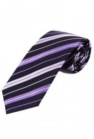 Optimale Krawatte Streifendesign nachtblau lila...