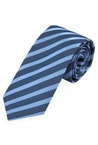 Herrenkrawatte Struktur-Muster Streifen taubenblau