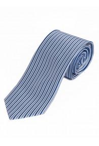 Krawatte vertikales Streifendesign perlweiß