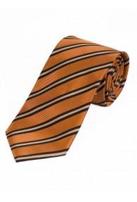 XXL-Krawatte raffiniertes Streifen-Dessin...
