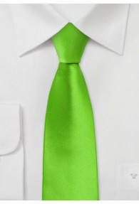 Grüne Krawatte schmal