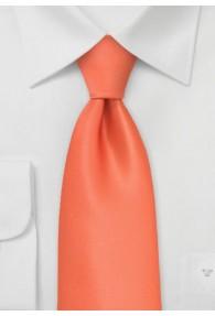 Krawatte in orange / lachs