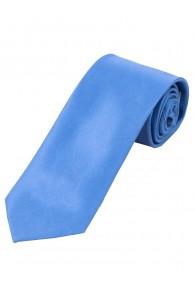 Überlange Satin-Krawatte Seide monochrom...