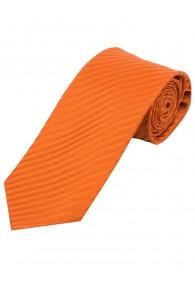 Lange Krawatte unifarben Streifen-Struktur kupfer