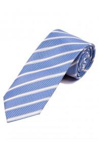 Überlange Krawatte Struktur-Dessin Linien...