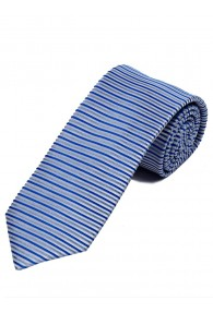 Überlange Krawatte horizontales Streifendessin...