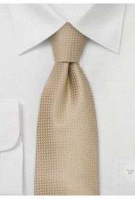 Orleans Krawatte Struktur Beige