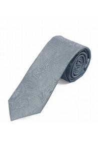 Sevenfold-Businesskrawatte Paisley grau