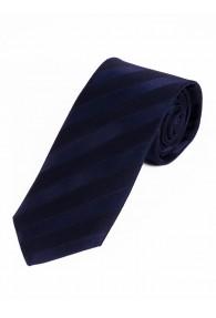 Sevenfold-Krawatte  einfarbig navy