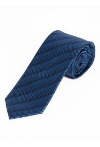 Sevenfold-Krawatte  einfarbig navyblau