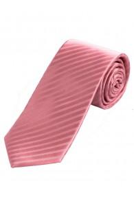 Sevenfold-Businesskrawatte  einfarbig rosa