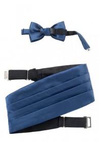 Kummerbund-Set dunkelblau