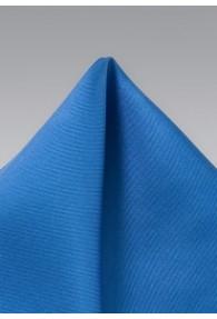 Einstecktuch Seide blau