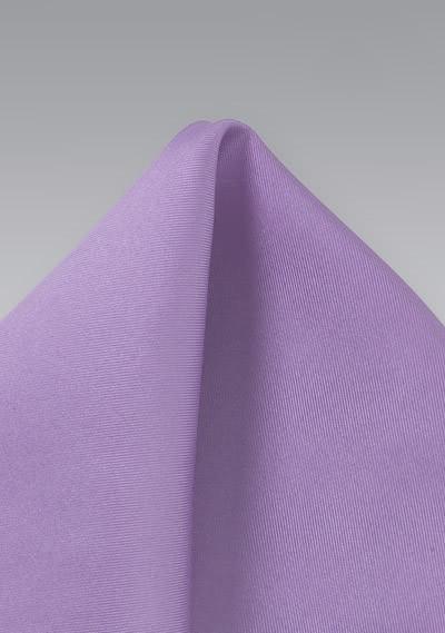 Einstecktuch Seide einfarbig violett