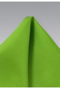 Einstecktuch Seide moosgrün