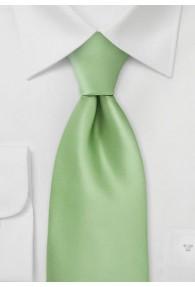 Krawatte grasgrün unifarben