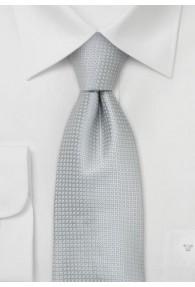 XXL-Krawatte silber