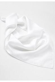Damentuch Seide weiß groß