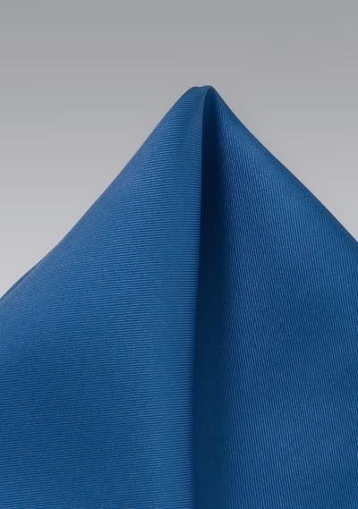 Einstecktuch blau aus Seide