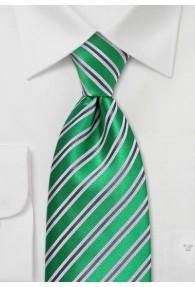 Krawatte Streifen Grün