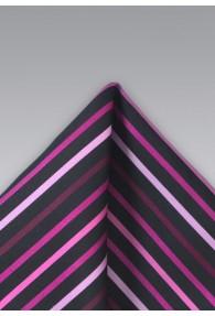 Einstecktuch Mikrofaser Pink Magenta