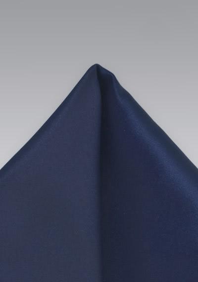 Einstecktuch Navyblau