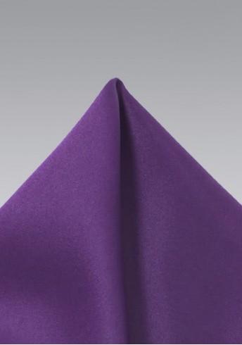 Einstecktuch Violett