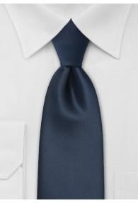 Clip-Krawatte in navy