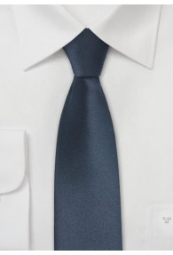 Krawatte schmal navy