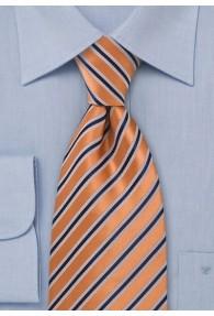 Kinder-Krawatte orange