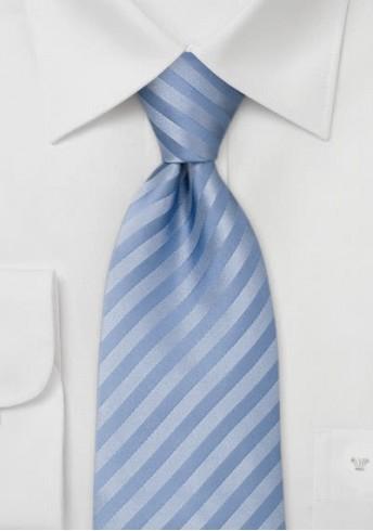 Herren Krawatte  hellblau