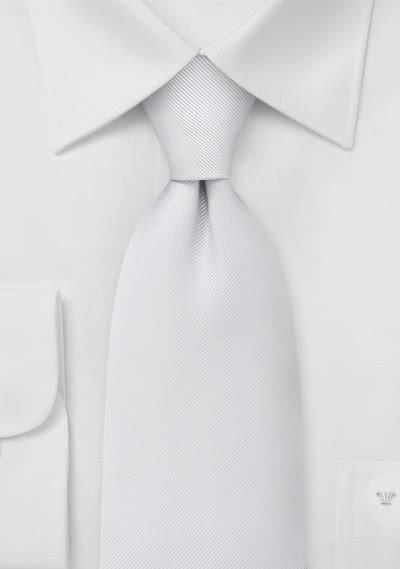 Anwaltskrawatte Luxury in weiß