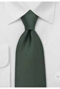 Krawatte Luxury dunkelgrün