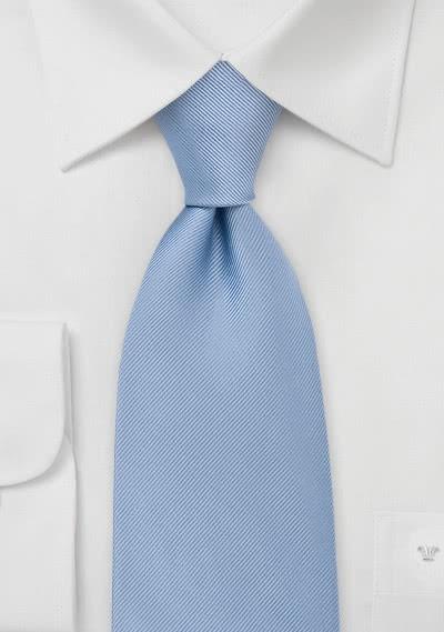 Krawatte Strukur hellblau Luxus