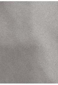 Mikrofaser-Krawatte monochrom altsilber