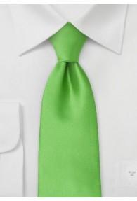 Mikrofaser-Krawatte einfarbig grün