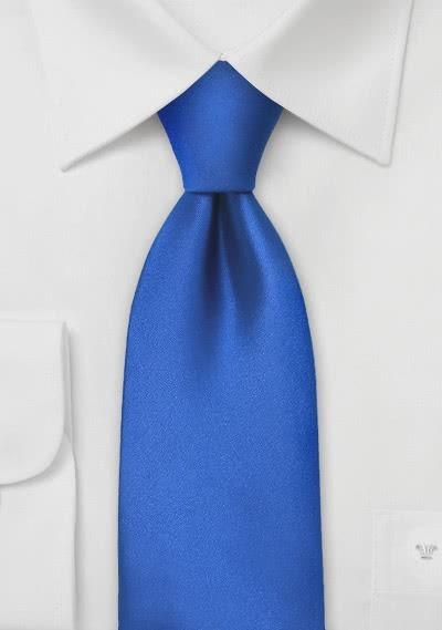 Clipkrawatte unifarben königsblau