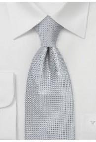 Krawatte Silber