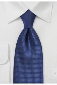 Dunkelblaue Krawatte Faux-Uni
